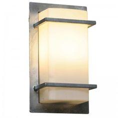 Torrent_utelampe_vegg_hvitt-glass Decor, Wall Lights, Sconces, Candles, Wall, Home Decor, Light, Glass