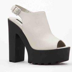 Peep Toe Platforms Platforms Forever 21 Shoes Platforms