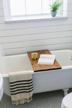 Reminder to get husband to make this bath tray.
