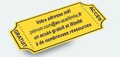 Petit Récapitulatif des ressources, gratuites & accessibles #AvecMonAdresseMelAcademiqueJaccedeA