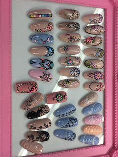 @pelikh_ nailz Cute Nails, Pretty Nails, My Nails, Nail Polish Designs, Cute Nail Designs, Nail Disorders, Jasmine Nails, Nailart, Sweet Blossom