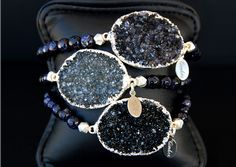Cimber Bliss Bracelet- A gorgeous druzy piece of jewelry, a great accessory to any outfit! #wildebelleboutique