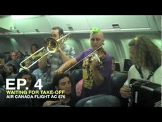 "Stuck on Runway, Gypsy Punk Band Puts On Impromptu Show for Passengers - Can this happen on every flight I take?! Random break out shows from really good bands on every flight would be delightful! ""We've got some mother f'n good tunes on this mother f'n plane, and I'm not getting off until they play track 4"""