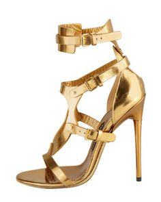 Gorgeous Golds...Tom Ford Shoes Spring 2013 It's your World...
