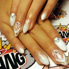 @ms_alyssa_ash wedded bliss #weddingnails #fingerbangme #nailchurch #fingerbang #fingerbanggang #fingerbangportland