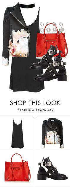 """Sin título #3909"" by hellomissapple on Polyvore featuring moda, Topshop, Givenchy, Balenciaga y ASOS"