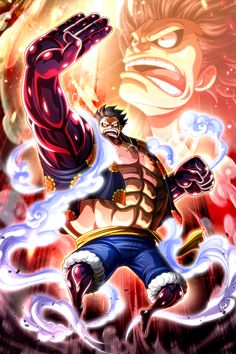 One Piece Gear 4, One Piece Series, One Piece Comic, One Piece World, One Piece Ace, One Piece Luffy, Roronoa Zoro, One Piece Bounties, Luffy Gear 4