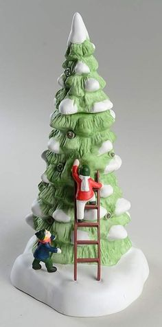 Christmas In The City Lighted Tree W/ Children-Set Of 3 - Boxed by Department 56 | Replacements, Ltd.