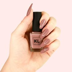KL Polish Zoey bottle in hand $8.50