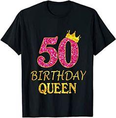 Dieses T-Shirt passt perfekt für den Geburtstag! #Geburtstag #Birthday #Party #Feiern #HappyBirthday #Spruch #Werbung #50er Princess Girl, Princess Birthday, 50th Birthday, Birthday Shirts, Funny Birthday, Birthday Design, 50 Years Old, Shirts For Girls, Shirt Outfit