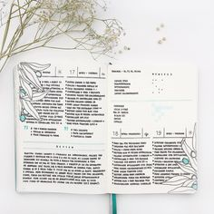 These days on my Bullet Journal. I think is the first time that I use aquamarine color for the berries in a daily layout, I love it! Also,…