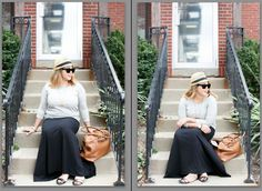 4 ways to pose your best. The writer of the article is the subject of the photos. This is positive and helpful!
