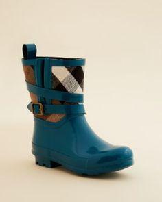 Burberry Girls' Mini Holloway Rain Boots - Toddler, Little Kid | Bloomingdale's