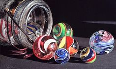 Art: Marbles, a Hyper-Realistic Painting by Steve Mills