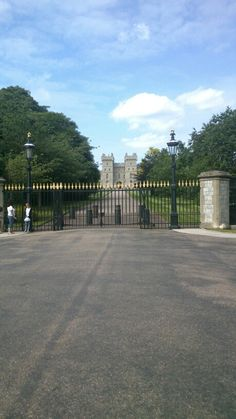 The gates of windsor castle
