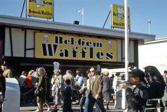 1964 New York Worlds Fair where the Belgian Waffle was born