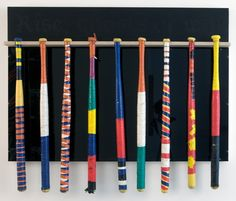 wiffleball bats....I remember doing this when I was a kid
