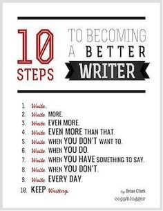 How to write better ;)