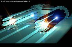 電磁レールガン発射シークエンス Railguns firing sequences