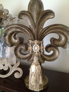 Fleur De Lis Decor Tuscan Style Homes House World Design
