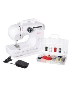 Love this Compact Sewing Machine Set on #zulily! #zulilyfinds