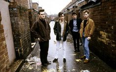 """(via the Daily Beast - October 2013) 'As Penguin Books faces a backlash over Morrissey's demands to publish his memoir as a """"classic,"""" his former bandmate Andy Rourke tells Michael Moynihan about his acrimonious relationship with the singer, the band's crazy stalkers, his 20-year heroin addiction, and more'.  #interview #TheSmiths"""