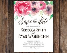 This listing includes: 4.25 x 5.5 postcard save the dates which are professionally printed on thick 130lb heavy cardstock with a glossy front
