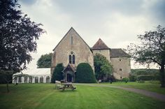 Bilsington Priory wedding of Isabel and David