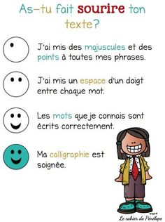 French Teaching Resources, Teaching French, Teaching Tools, Writing Checklist, French Immersion, French Teacher, French Language Learning, Writing Workshop, Educational Technology