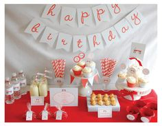 Red Wagon Party Package - Printable Full Collection - by Pretty Smitten Happy Birthday Banners, It's Your Birthday, Birthday Parties, Birthday Ideas, Theme Parties, Birthday Celebrations, Red Wagon Party, Red Party, Baby Party