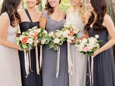 One wedding look that I have been loving lately is the look of long, varied ribbons flowing from bouquets! This classic-looking trend has been around for a while, but I've definitely noticed …