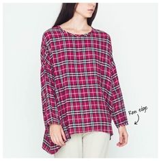 Our Fall wardrobe is anything that's plaid. We're mad for it! 'Reinhardt' raw edge sleeve top is $38 & available in sizes Comment for PayPal or call to purchase. #dressmingle #plaid #musthave #igstyle #whattowear #wiw #inmycloset