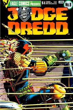 Judge Dredd - Brian Bolland - Pieces like this are what got me into Dredd in the first place.  He's no superhero, just a guy doing is job...well.