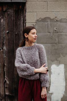Ravelry: Kelowna Sweater by Tara-Lynn Morrison Day For Night, Good Night, Mohair Sweater, Men Sweater, Hand Knitting, Knitting Patterns, Tara Lynn, Knit Picks, Ravelry