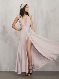 White runway arianna dress reformation