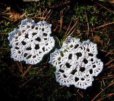 Xmas Snowflakes earrings secret santa Xmas gift girl Winter
