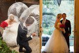 Trustee's Garden | Greg Ceo, Savannah Wedding Photographer // Rain in Savannah #rainy #romantic