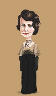 Downton Caricatures Cora