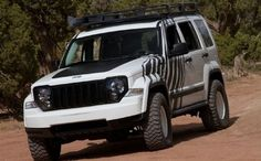 Jeep Outland Zebra Front End