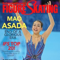 Mao Asada Figure Skating wouldn't the the same without you.