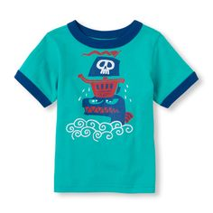 This ringer graphic tee is (sea) monstrous fun!