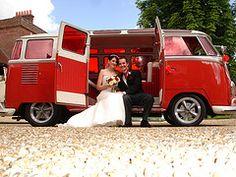 VW wedding bus