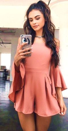 Dusty Pink Playsuit