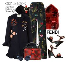 """Fur Scarf: Fendi"" by esch103 ❤ liked on Polyvore featuring Fendi"