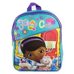 Disney Doc McStuffins Toddler Friends On Call Backpack Set With Graphic Pencils -- Be sure to check out this awesome product.