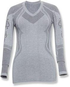 Terramar Smartsilk Lightweight Long Underwear Top - Soft silk naturally wicks sweat.