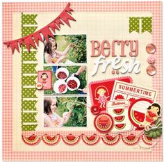 Berry Fresh Pink Paislee Hometown Summer Collection 4
