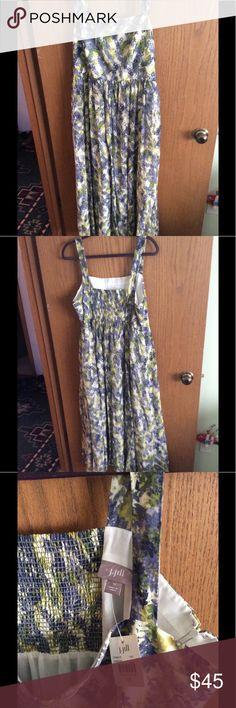 Perfect Summer Wedding or Get-together Dress. New, fresh and flattering dress. J. Jill Dresses Maxi