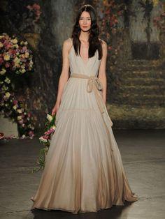 Jenny Packham Spring 2016 wedding dress | fabmood.com