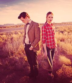 The Doctor. Amy Pond.